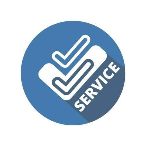 Service tick image